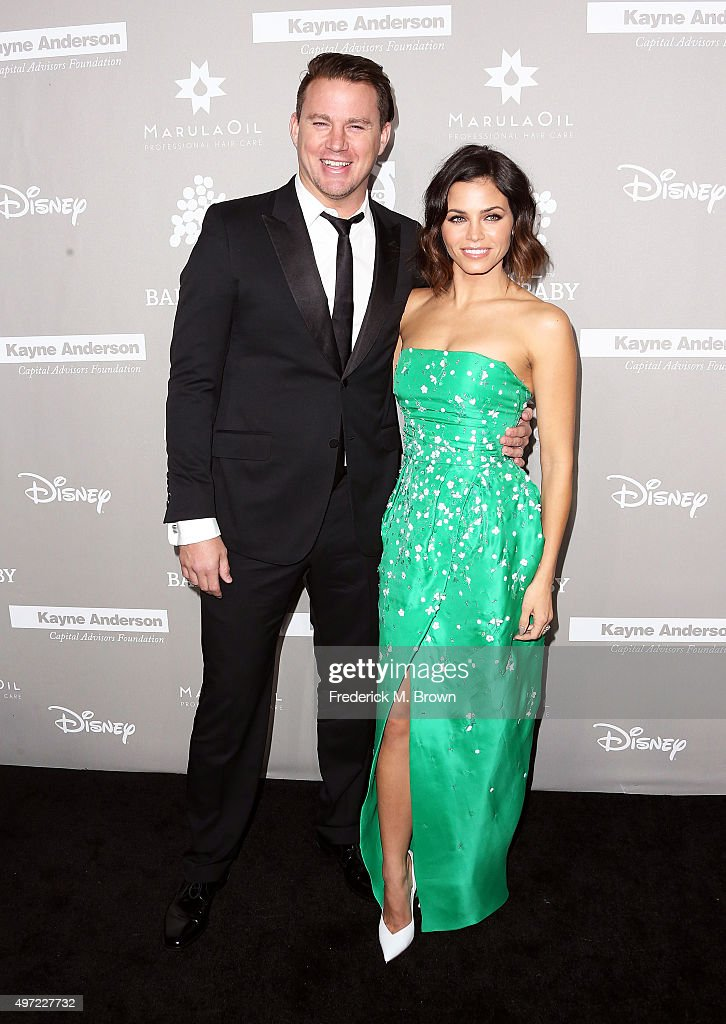 Actor Channing Tatum and actress Jenna Dewan Tatum attend the 2015 Baby2Baby Gala at 3LABS on November 14 2015 in Culver City California