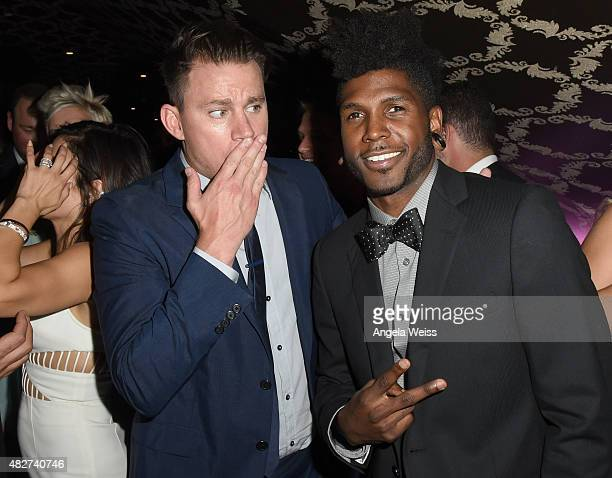 Actor Channing Tatum and Cyrus 'Glitch' Spencer attend the 5th Annual Celebration of Dance Gala presented By The Dizzy Feet Foundation at Club Nokia...