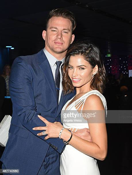 Actor Channing Tatum and his wife actress Jenna DewanTatum attend the 5th Annual Celebration of Dance Gala presented By The Dizzy Feet Foundation at...