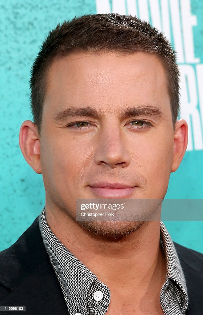 Actor <a gi-track='captionPersonalityLinkClicked' href=/galleries/search?phrase=Channing+Tatum&family=editorial&specificpeople=549548 ng-click='$event.stopPropagation()'>Channing Tatum</a> arrives at the 2012 MTV Movie Awards held at Gibson Amphitheatre on June 3, 2012 in Universal City, California.