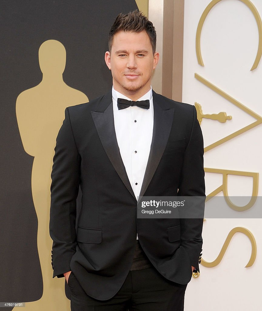 Actor <a gi-track='captionPersonalityLinkClicked' href=/galleries/search?phrase=Channing+Tatum&family=editorial&specificpeople=549548 ng-click='$event.stopPropagation()'>Channing Tatum</a> arrives at the 86th Annual Academy Awards at Hollywood & Highland Center on March 2, 2014 in Hollywood, California.