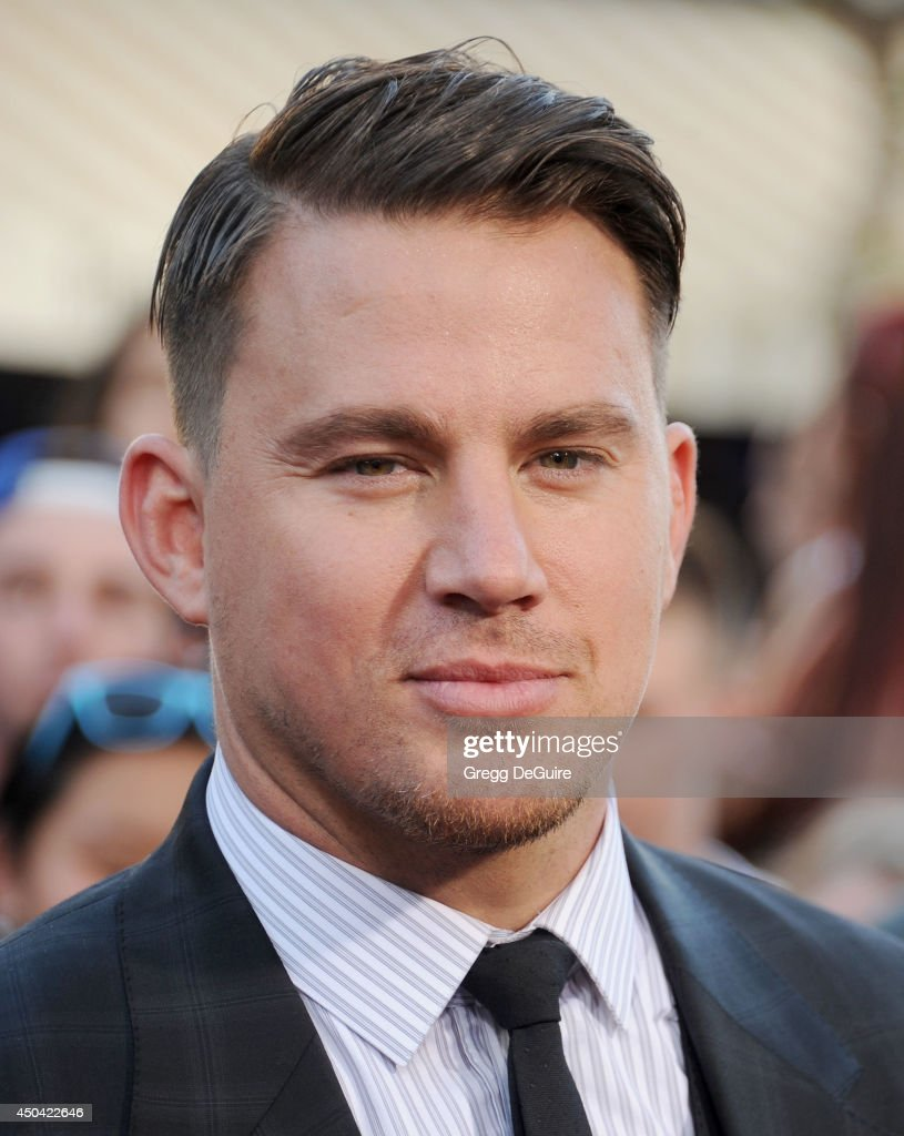 Actor <a gi-track='captionPersonalityLinkClicked' href=/galleries/search?phrase=Channing+Tatum&family=editorial&specificpeople=549548 ng-click='$event.stopPropagation()'>Channing Tatum</a> arrives at the Los Angeles premiere of '22 Jump Street' at Regency Village Theatre on June 10, 2014 in Westwood, California.