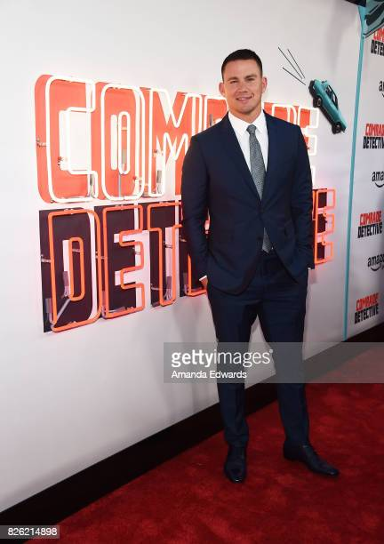 Actor Channing Tatum arrives at the premiere of Amazon's 'Comrade Detective' at the ArcLight Hollywood on August 3 2017 in Hollywood California
