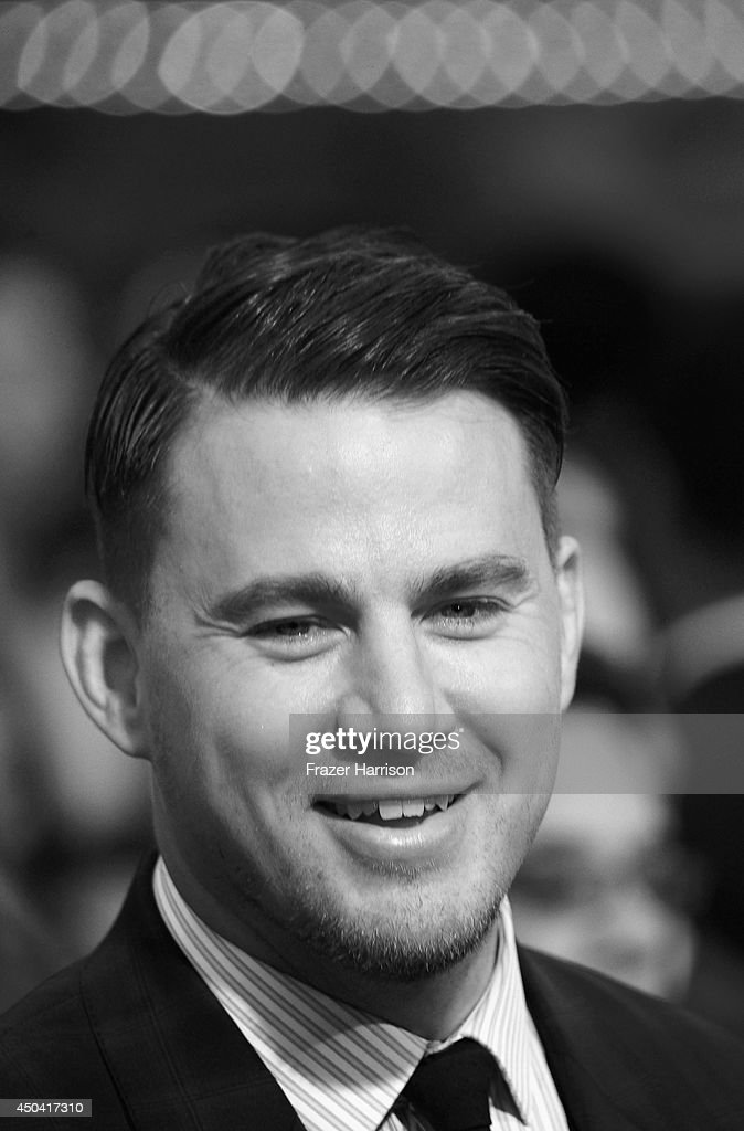 Actor <a gi-track='captionPersonalityLinkClicked' href=/galleries/search?phrase=Channing+Tatum&family=editorial&specificpeople=549548 ng-click='$event.stopPropagation()'>Channing Tatum</a> arrives at the Premiere Of Columbia Pictures' '22 Jump Street' at Regency Village Theatre on June 10, 2014 in Westwood, California.