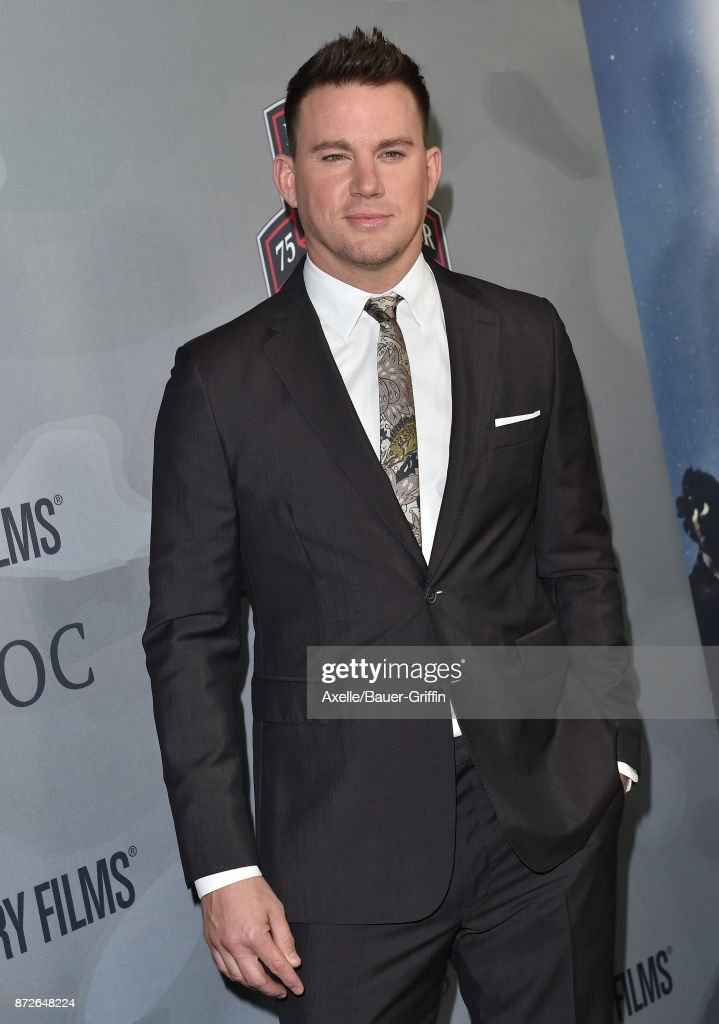 Actor Channing Tatum arrives at the premiere of 'War Dog: A Soldier's Best Friend' at Directors Guild of America on November 6, 2017 in Los Angeles, California.