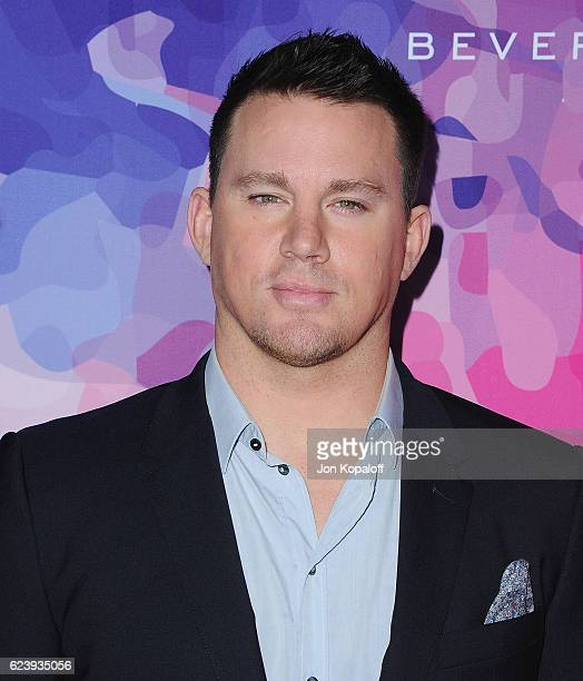 Actor Channing Tatum arrives at Variety And WWD Host 2nd Annual StyleMakers Awards at Quixote Studios West Hollywood on November 17 2016 in West...