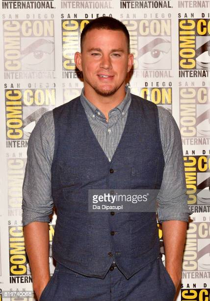 Actor Channing Tatum at the 'Kingsman The Secret Service' press line at Hilton Bayfront during ComicCon International 2017 on July 20 2017 in San...