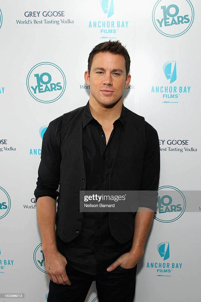 Actor <a gi-track='captionPersonalityLinkClicked' href=/galleries/search?phrase=Channing+Tatum&family=editorial&specificpeople=549548 ng-click='$event.stopPropagation()'>Channing Tatum</a> attends '10 Years' brunch reunion event hosted by GREY GOOSE Vodka And Anchor Bay Films at Hotel Chantelle on September 16, 2012 in New York City.