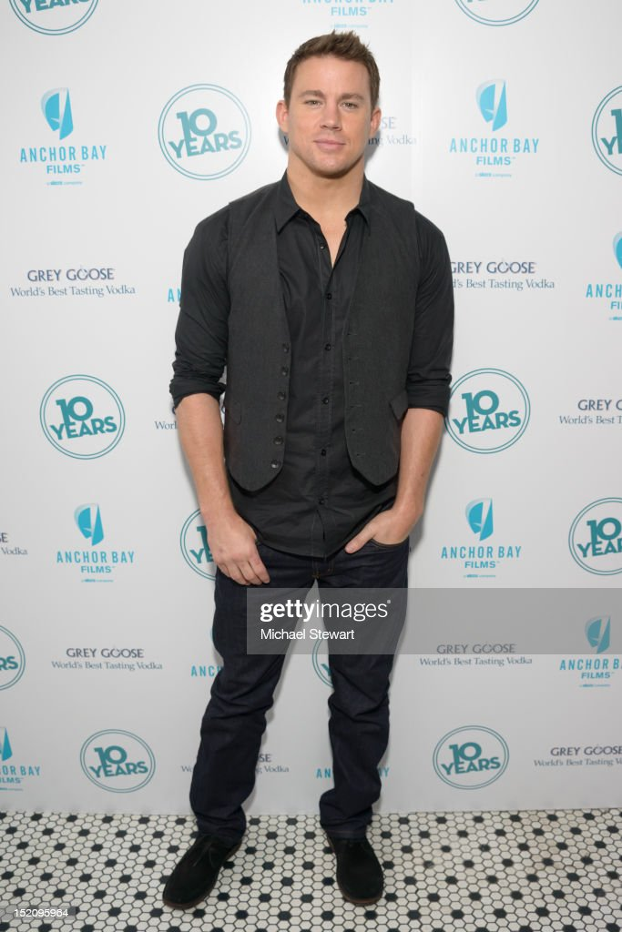 Actor Channing Tatum attends '10 Years' New York Brunch Reunion at Hotel Chantelle on September 16, 2012 in New York City.