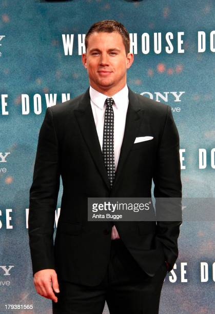 Actor Channing Tatum attends at 'White House Down' Germany premiere at CineStar on September 2 2013 in Berlin Germany