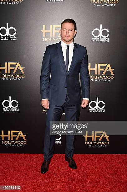 Actor Channing Tatum attends the 19th Annual Hollywood Film Awards at The Beverly Hilton Hotel on November 1 2015 in Beverly Hills California