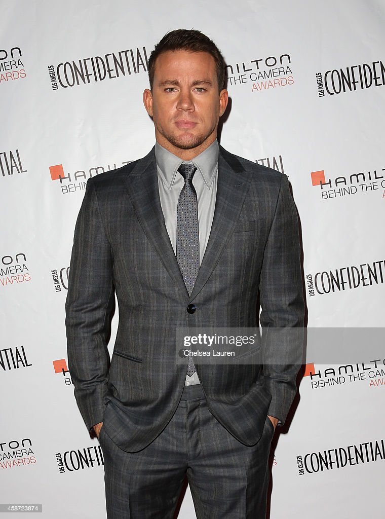 Actor <a gi-track='captionPersonalityLinkClicked' href=/galleries/search?phrase=Channing+Tatum&family=editorial&specificpeople=549548 ng-click='$event.stopPropagation()'>Channing Tatum</a> attends The 2014 Hamilton Behind the Camera Awards presented by Hamilton Watch and LA Confidential at The Wilshire Ebell Theatre on November 9, 2014 in Los Angeles, California.
