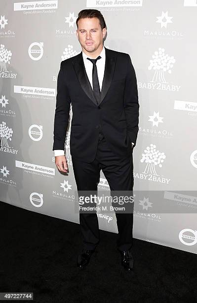 Actor Channing Tatum attends the 2015 Baby2Baby Gala at 3LABS on November 14 2015 in Culver City California