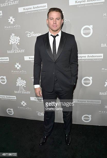 Actor Channing Tatum attends the 2015 Baby2Baby Gala presented by MarulaOil Kayne Capital Advisors Foundation honoring Kerry Washington at 3LABS on...