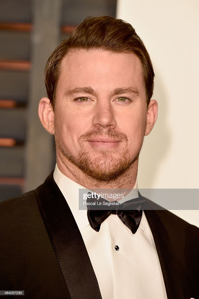 Actor <a gi-track='captionPersonalityLinkClicked' href=/galleries/search?phrase=Channing+Tatum&family=editorial&specificpeople=549548 ng-click='$event.stopPropagation()'>Channing Tatum</a> attends the 2015 Vanity Fair Oscar Party hosted by Graydon Carter at Wallis Annenberg Center for the Performing Arts on February 22, 2015 in Beverly Hills, California.