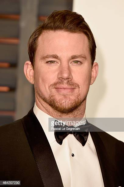 Actor Channing Tatum attends the 2015 Vanity Fair Oscar Party hosted by Graydon Carter at Wallis Annenberg Center for the Performing Arts on February...