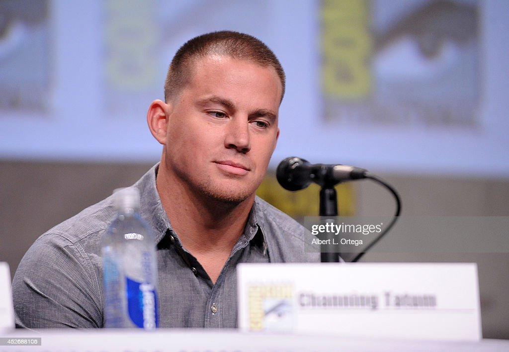 Actor <a gi-track='captionPersonalityLinkClicked' href=/galleries/search?phrase=Channing+Tatum&family=editorial&specificpeople=549548 ng-click='$event.stopPropagation()'>Channing Tatum</a> attends the 20th Century Fox presentation during Comic-Con International 2014 at San Diego Convention Center on July 25, 2014 in San Diego, California.