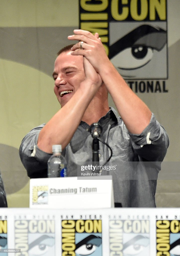Actor Channing Tatum attends the 20th Century Fox presentation during Comic-Con International 2014 at San Diego Convention Center on July 25, 2014 in San Diego, California.