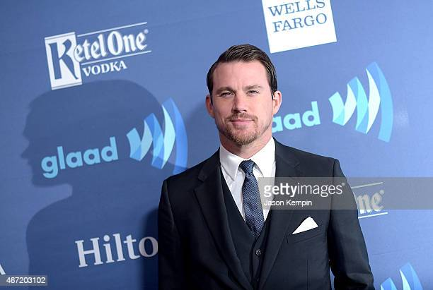Actor Channing Tatum attends the 26th Annual GLAAD Media Awards at The Beverly Hilton Hotel on March 21 2015 in Beverly Hills California