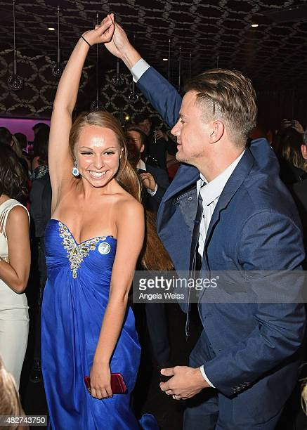 Actor Channing Tatum attends the 5th Annual Celebration of Dance Gala presented By The Dizzy Feet Foundation at Club Nokia on August 1 2015 in Los...