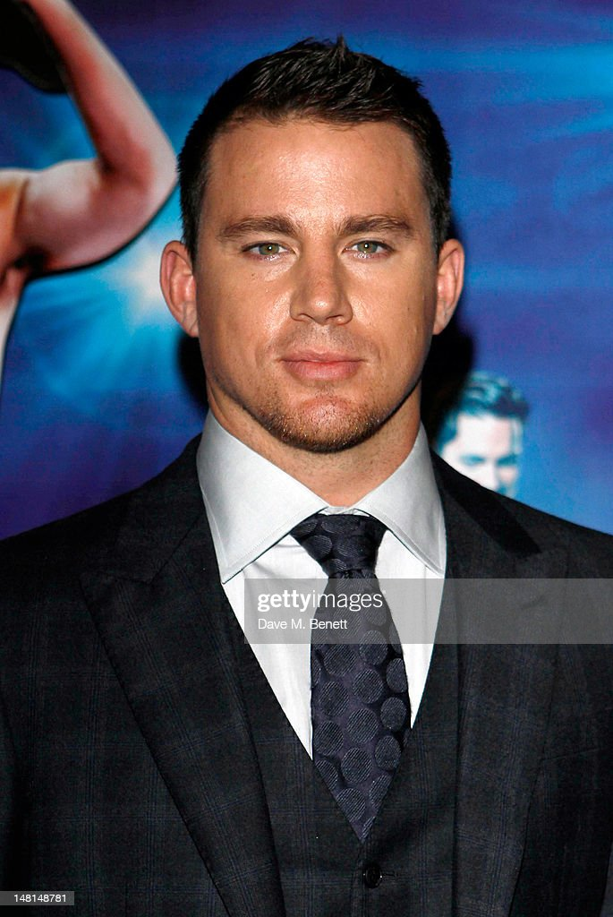 Actor Channing Tatum attends the European premiere of 'Magic Mike' at The May Fair Hotel on July 10, 2012 in London, England.