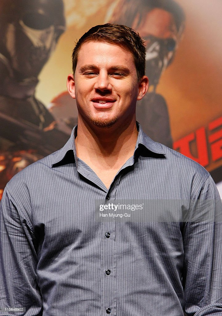 Actor Channing Tatum attends the 'G I Joe The Rise of Cobra' press conference at the Shilla Hotel on July 29 2009 in Seoul South Korea The film will...