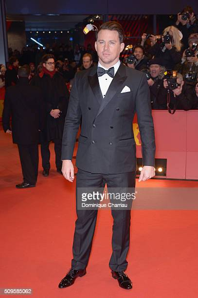 Actor Channing Tatum attends the 'Hail Caesar' premiere during the 66th Berlinale International Film Festival Berlin at Berlinale Palace on February...