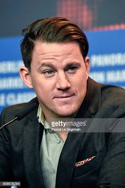 Actor Channing Tatum attends the 'Hail Caesar' press conference during the 66th Berlinale International Film Festival Berlin at Grand Hyatt Hotel on...
