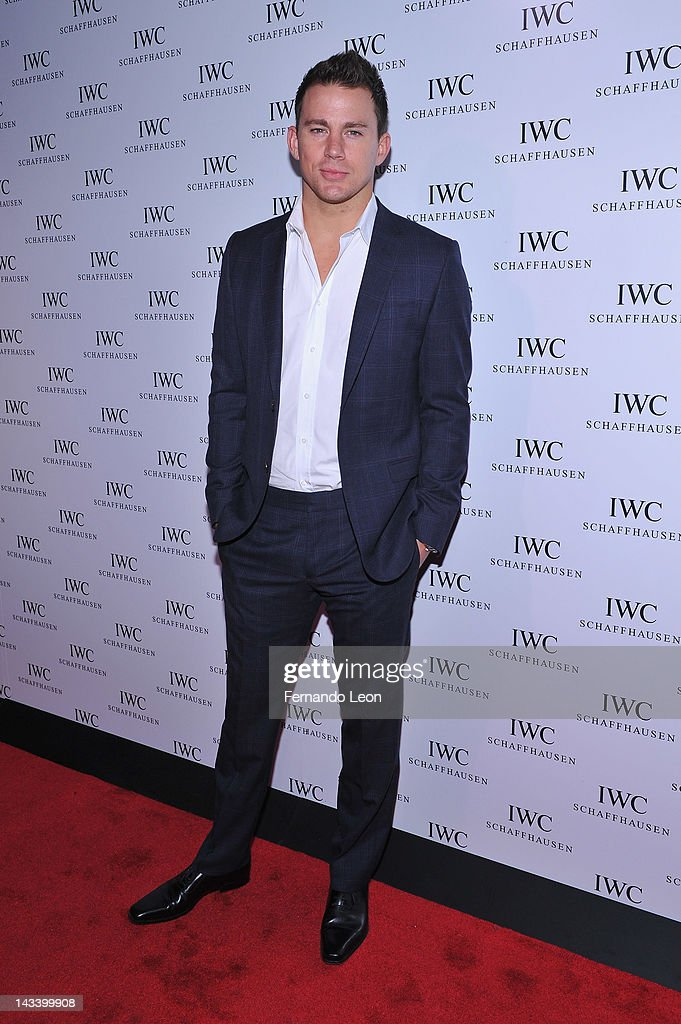 Actor <a gi-track='captionPersonalityLinkClicked' href=/galleries/search?phrase=Channing+Tatum&family=editorial&specificpeople=549548 ng-click='$event.stopPropagation()'>Channing Tatum</a> attends the IWC Flagship Boutique New York City Grand Opening at IWC Boutique on April 25, 2012 in New York City.