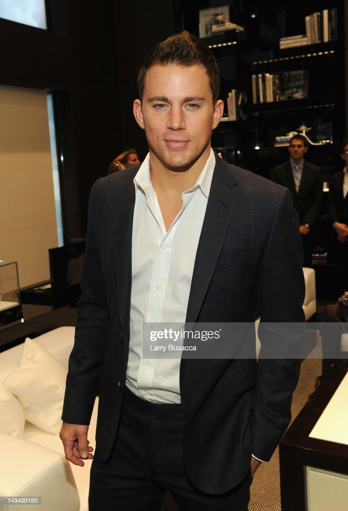 Actor Channing Tatum attends the IWC Flagship Boutique New York City Grand Opening at IWC Boutique on April 25, 2012 in New York City.