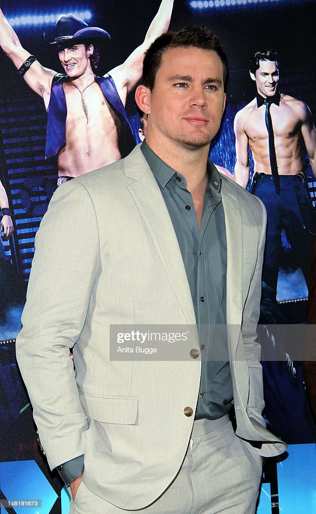 Actor Channing Tatum attends the 'Magic Mike' photocall at Hotel De Rome on July 12, 2012 in Berlin, Germany.