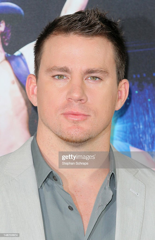 Actor <a gi-track='captionPersonalityLinkClicked' href=/galleries/search?phrase=Channing+Tatum&family=editorial&specificpeople=549548 ng-click='$event.stopPropagation()'>Channing Tatum</a> attends the 'Magic Mike' photocall at the Hotel De Rome on July 12, 2012 in Berlin, Germany.