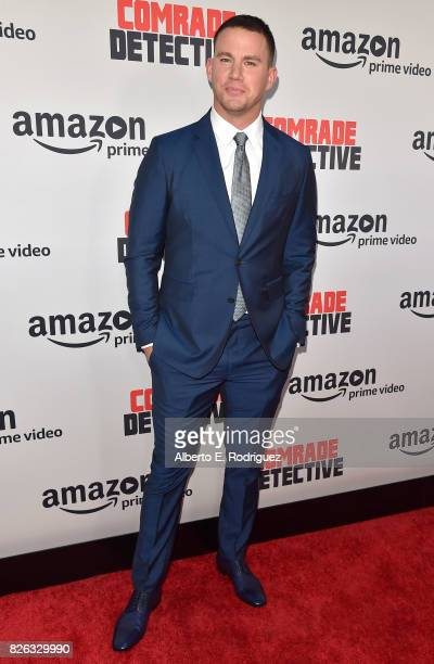 Actor Channing Tatum attends the premiere of Amazon's 'Comrade Detective' at ArcLight Hollywood on August 3 2017 in Hollywood California