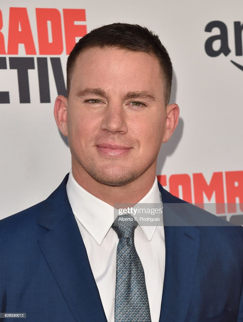 Actor Channing Tatum attends the premiere of Amazon's 'Comrade Detective' at ArcLight Hollywood on August 3, 2017 in Hollywood, California.