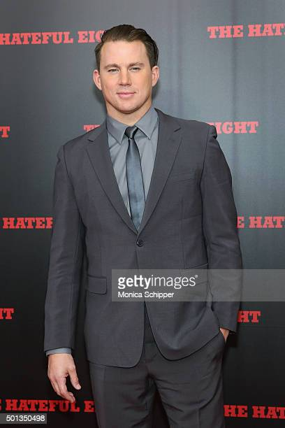 Actor Channing Tatum attends the The New York Premiere Of 'The Hateful Eight' on December 14 2015 in New York City