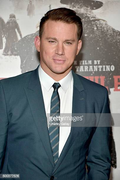 Actor Channing Tatum attends the world premiere of 'The Hateful Eight' presented by The Weinstein Company at ArcLight Cinemas Cinerama Dome on...