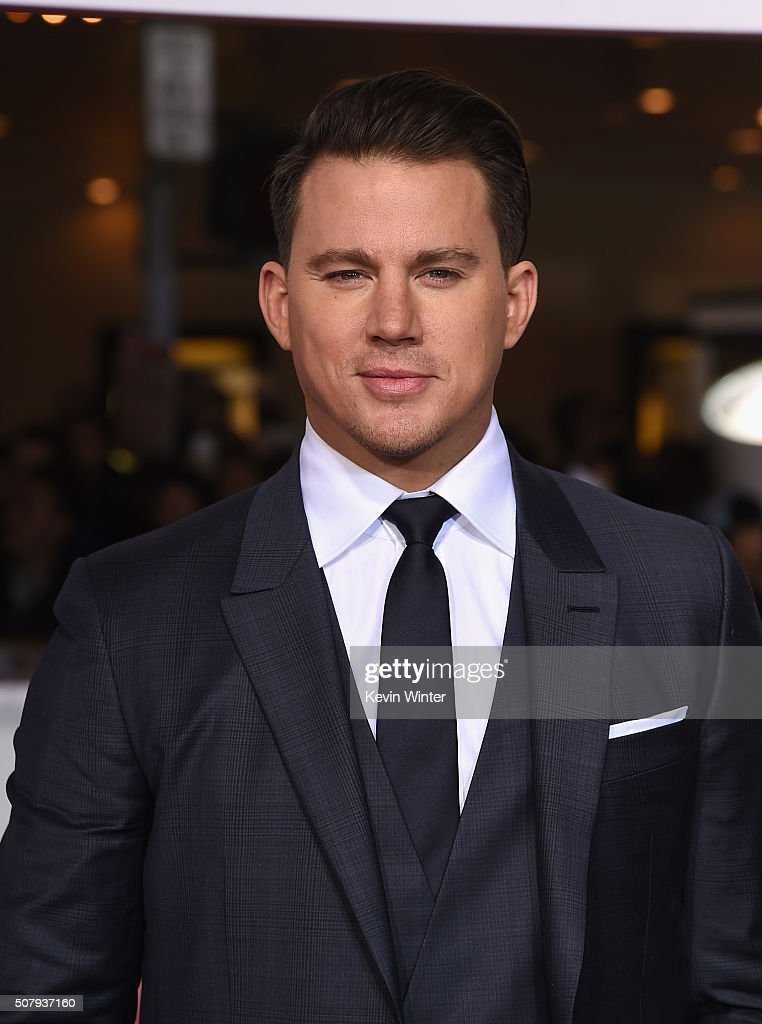 Actor <a gi-track='captionPersonalityLinkClicked' href=/galleries/search?phrase=Channing+Tatum&family=editorial&specificpeople=549548 ng-click='$event.stopPropagation()'>Channing Tatum</a> attends Universal Pictures' 'Hail, Caesar!' premiere at Regency Village Theatre on February 1, 2016 in Westwood, California.