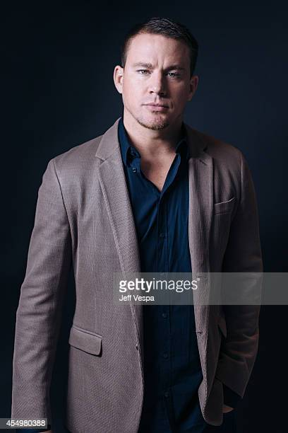 Actor Channing Tatum is photographed for a Portrait Session at the 2014 Toronto Film Festival on September 8 2014 in Toronto Ontario