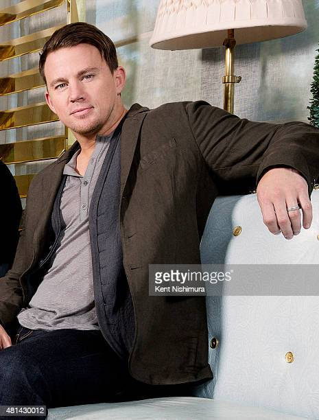 Actor Channing Tatum is photographed for Los Angeles Times on June 19 2015 in West Hollywood California Published Image CREDIT MUST READ Kent...