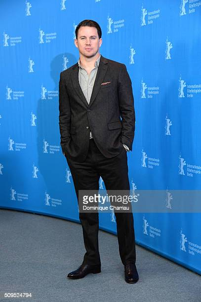 Actor Channing Tatum poses during the 'Hail Caesar' photo call during the 66th Berlinale International Film Festival Berlin at Grand Hyatt Hotel on...