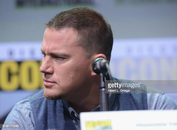 Actor Channing Tatum speaks onstage at the 20th Century FOX panel during ComicCon International 2017 at San Diego Convention Center on July 20 2017...
