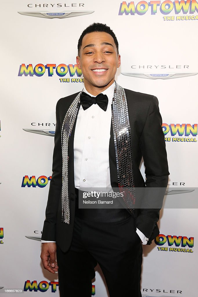 Actor Charl Brown attends the after party for the Broadway opening night for 'Motown: The Musical' at Roseland Ballroom on April 14, 2013 in New York City.