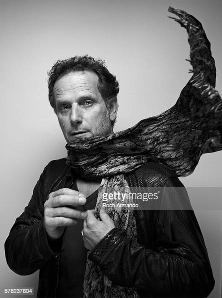 Actor Charles Berling is photographed for Self Assignment on June 21 2013 in Cabourg France