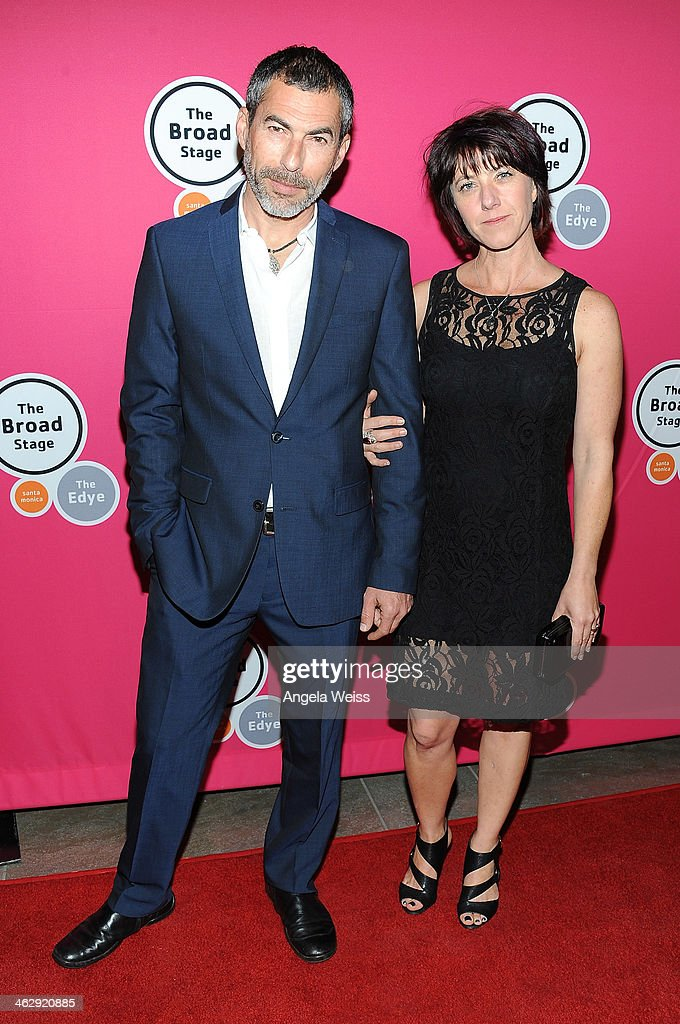 Actor Charles Fathy attends the Los Angeles opening night of Denis O'Hare's One-Man Show 'An Iliad' at The Eli and Edythe Broad Stage on January 15, 2014 in Santa Monica, California.