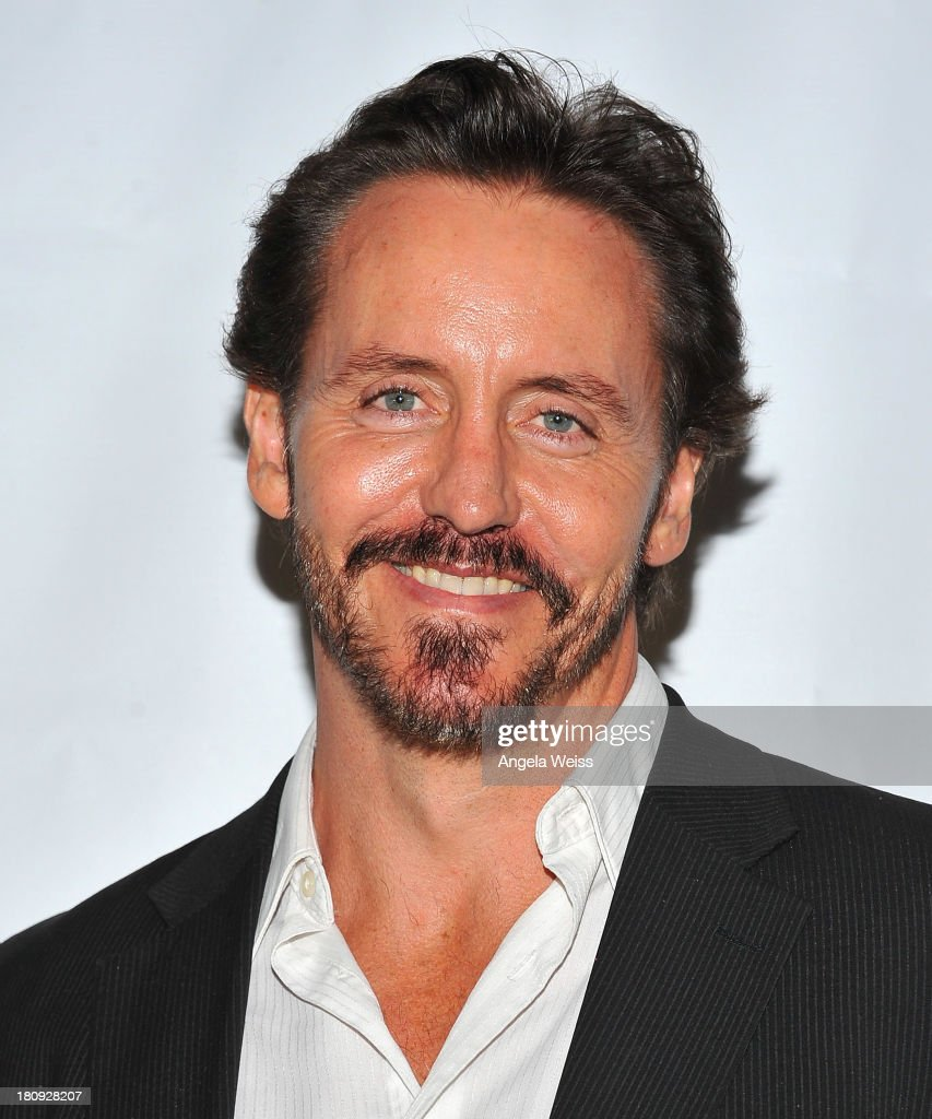 Actor Charles Mesure arrives at Margie Haber Studio's 'Stop Acting App: The Audition Class with Margie Haber' release launch party at Aventine Hollywood on September 17, 2013 in Hollywood, California.