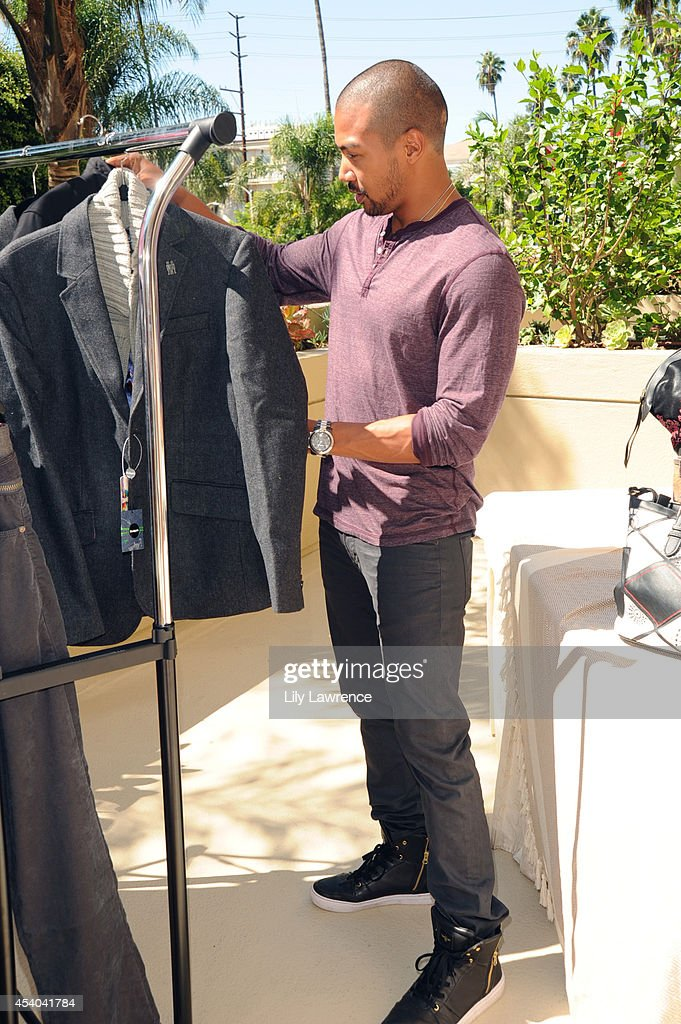 Actor Charles Michael Davis attends the HBO Luxury Lounge featuring PANDORA at Four Seasons Hotel Los Angeles at Beverly Hills on August 23, 2014 in Beverly Hills, California.