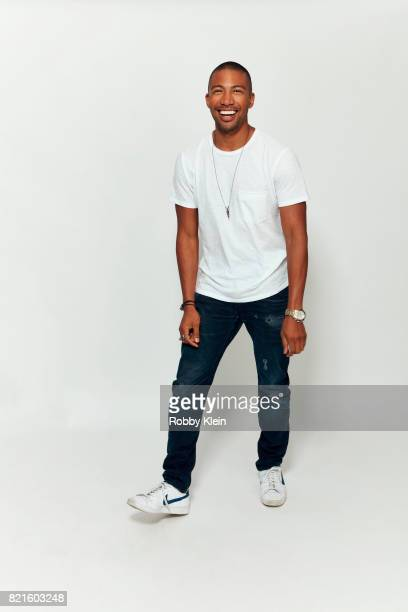 Actor Charles Michael Davis from CW's 'The Originals' poses for a portrait during ComicCon 2017 at Hard Rock Hotel San Diego on July 22 2017 in San...