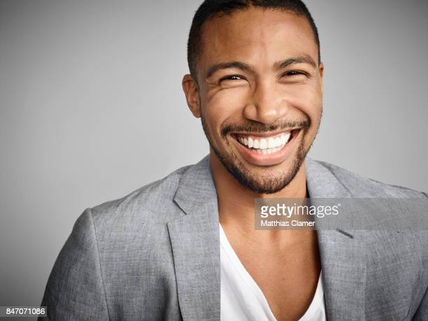 Actor Charles Michael Davis from 'The Originals' is photographed for Entertainment Weekly Magazine on July 23 2016 at Comic Con in the Hard Rock...