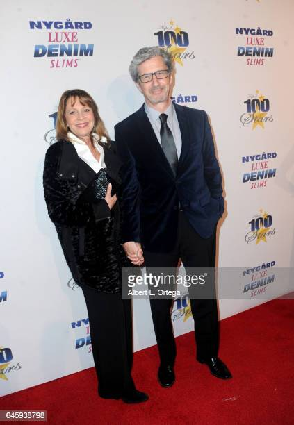 Actor Charles Shaughnessy and guest arrive for the Norby Walters' 27th Annual Night Of 100 Stars Black Tie Dinner Viewing Gala held at The Beverly...