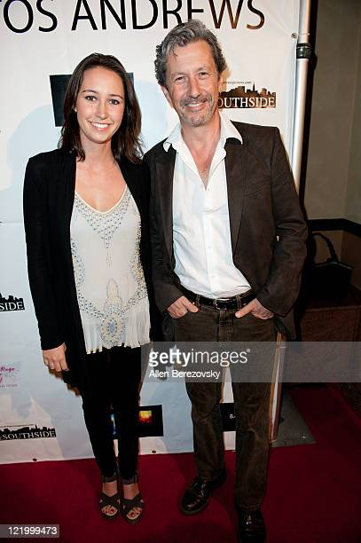 Actor Charles Shaughnessy and hist daughter Jenny Shaughnessy attend the surprise 21st birthday bash for Kristo Andrews at the Varsity Sports Bar on...